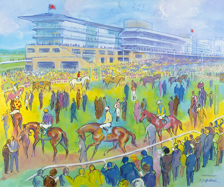 Cheltenham Colours – by Terence Gilbert