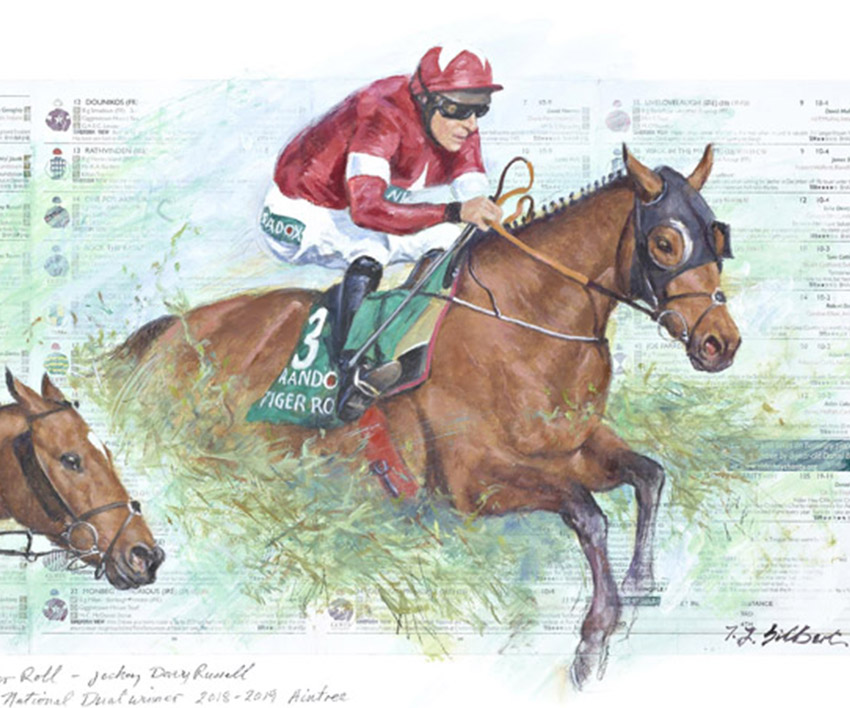 Tiger Roll – The Grand National by Terence Gilbert
